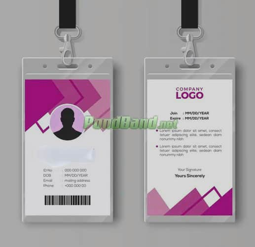 ukuran id card di photoshop