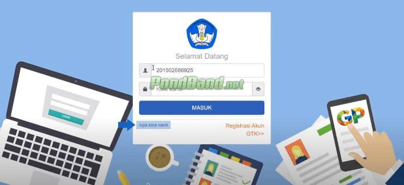 lupa email dan password sim pkb