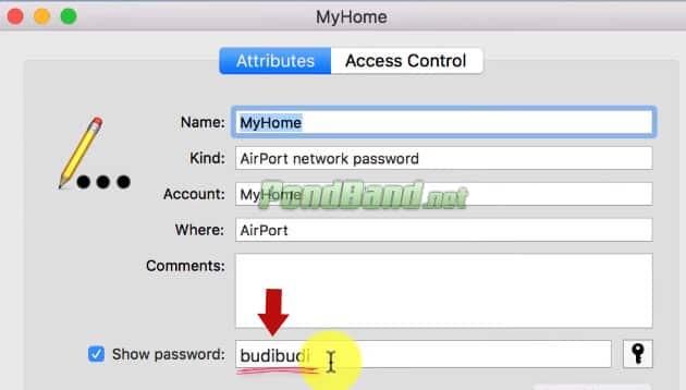 lupa password wifi di laptop