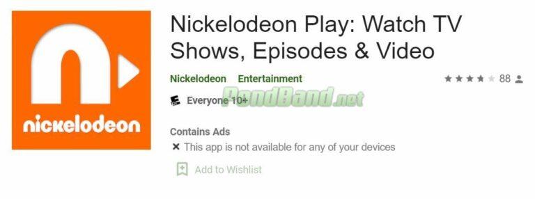 Bukalah aplikasi Nickelodeon Play. Jika belum punya bisa mendownloadnya di Playstore.