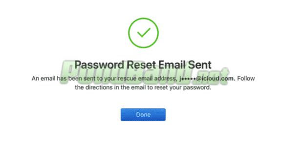 Dengan bantuan email maka Anda hanya membutuhkan beberapa langkah saja untuk proses reset password Icloud