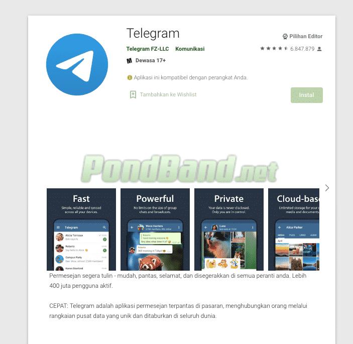 Download Aplikasi Telegram Android