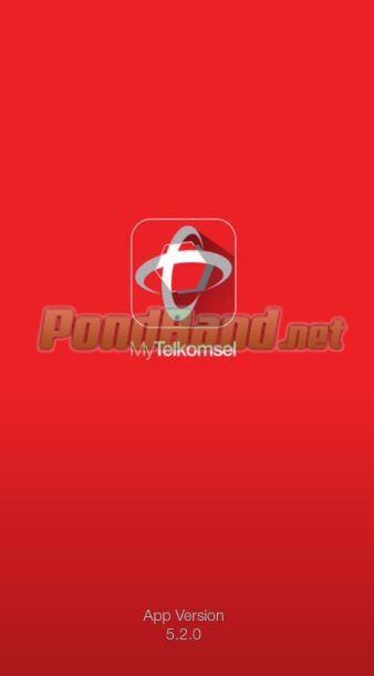 Download dulu aplikasi MyTelkomsel.