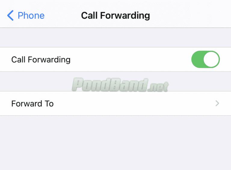 """Kalau sudah, tap pada tulisan """"Forward to"""" atau """"Teruskan Ke"""""""