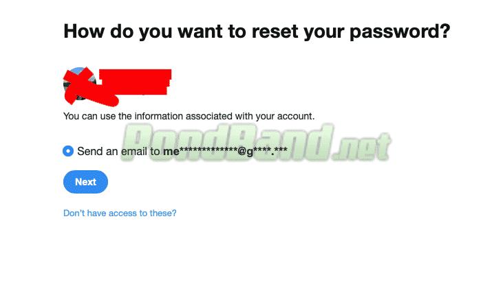 Setelah itu, sistem secara otomatis bakal menampilkan hasil pencarian username yang sesuai dengan username yang Anda masukkan sebelumnya