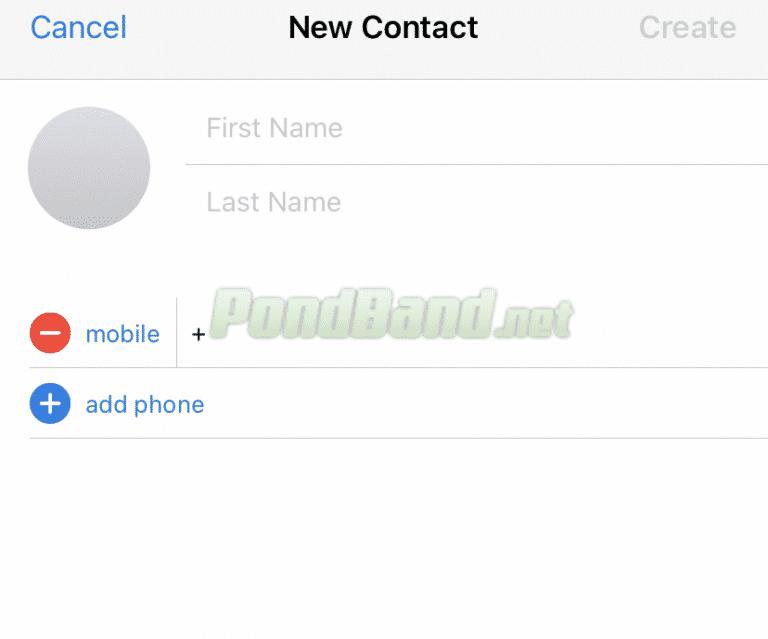 Tambahkan nama kontak dan nomor telepon yang sudah terhubung di aplikasi Telegram