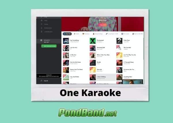 one karaoke