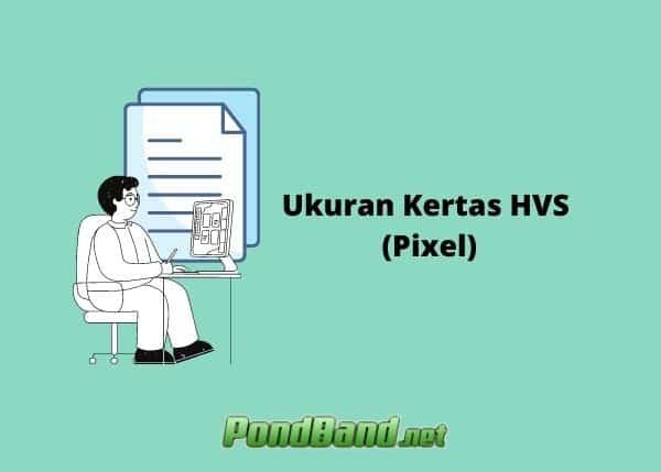 ukuran kertas hvs dalam pixel