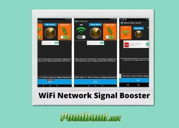 wifi network signal booster