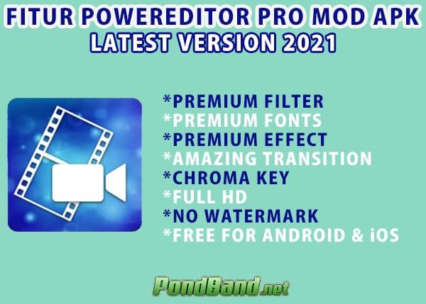 powerdirector pro mod apk for pc