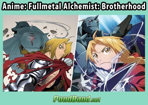 Anime: Fullmetal Alchemist: Brotherhood