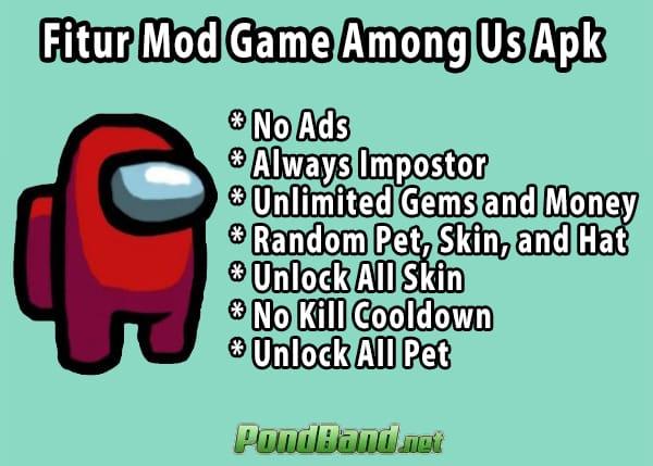 download among us mod apk jadi impostor