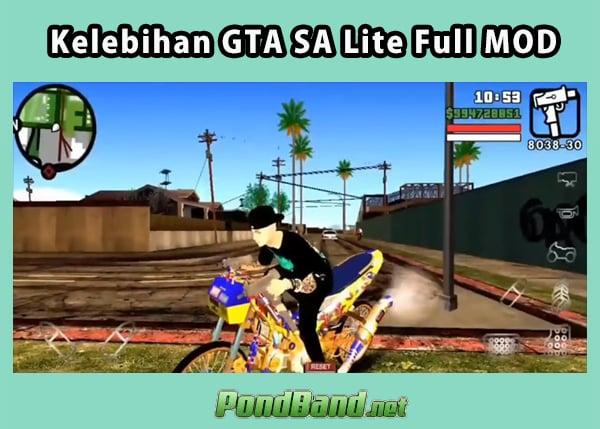 Download GTA San Andreas Lite Full Mod Apk