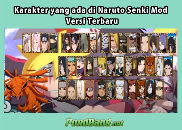 Kunggulan Naruto Senki Mod APK