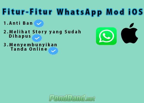 Whatsapp Mod iOS Apk v.8.70 Terbaru