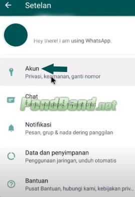Cara Menghapus Akun WhatsApp sementara