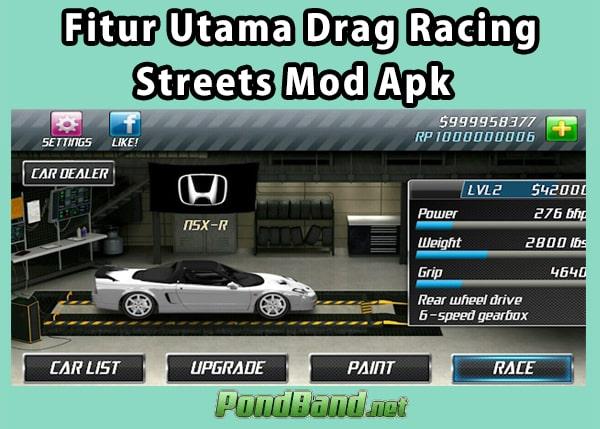 drag racing street 23 2 mod apk