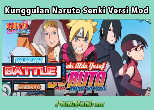 Download Naruto Senki Mod Versi terbaru