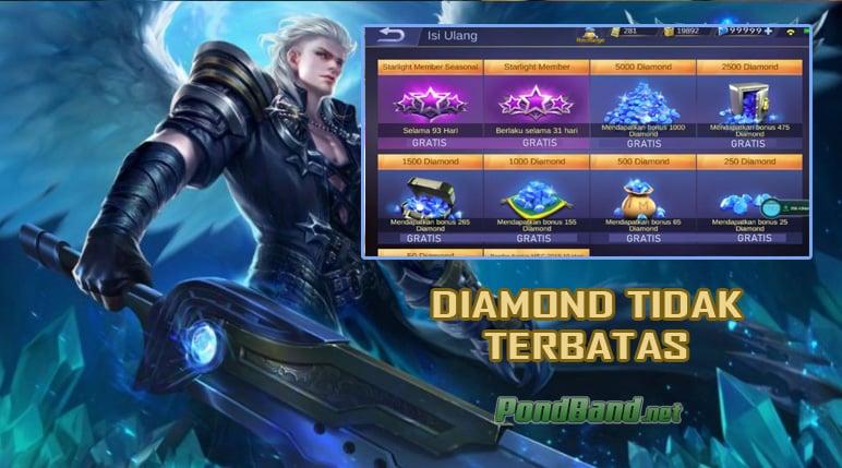 DIAMOND TIDAK TERBATAS