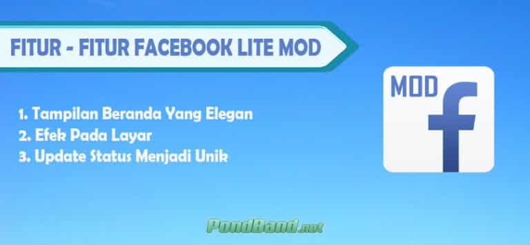 Fitur - Fitur Facebook Lite Mod