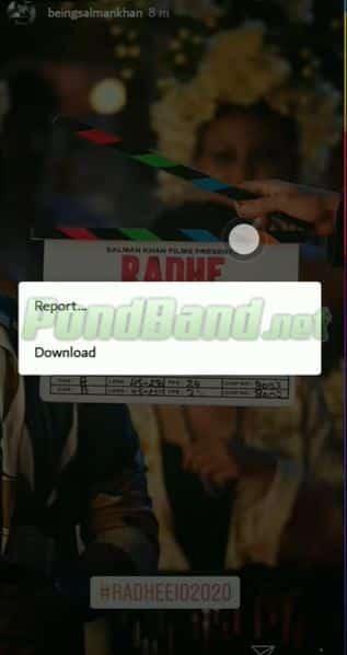 Kemudian klik titik tiga yang ada di kanan atas. Secara otomatis akan muncul opsi download.