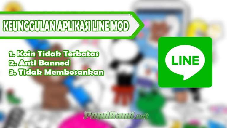Keunggulan Aplikasi Line Mod