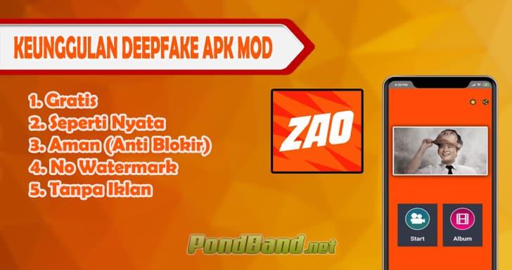 Keunggulan DeepFake Apk Mod