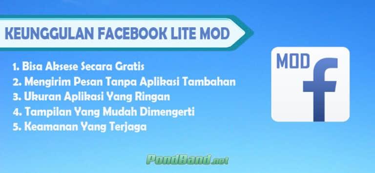 Keunggulan Facebook Lite Modd