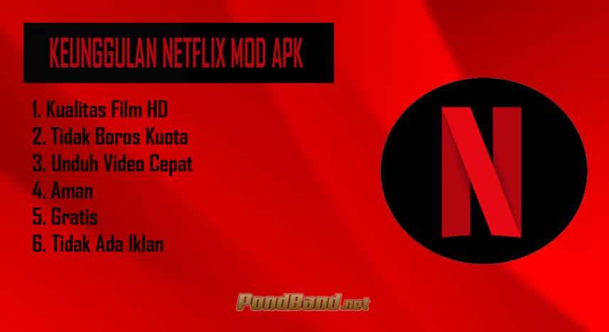 Keunggulan Netflix Mod APK