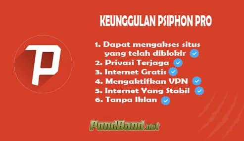 Keunggulan Psiphon Pro