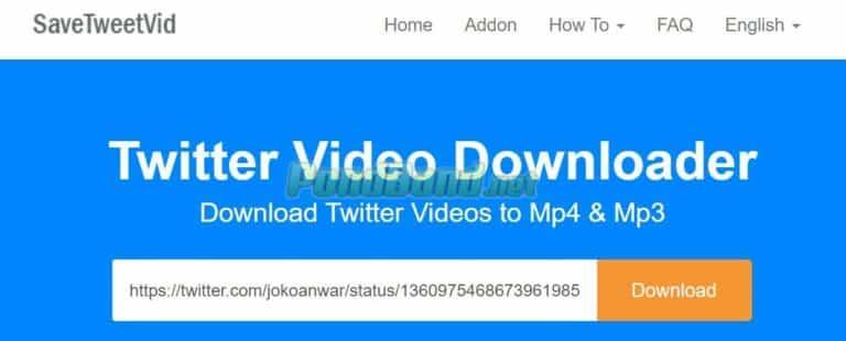 Klik tombol download atau unduh untuk memulai proses download video.