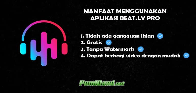 Manfaat menggunakan aplikasi Beat ly Pro