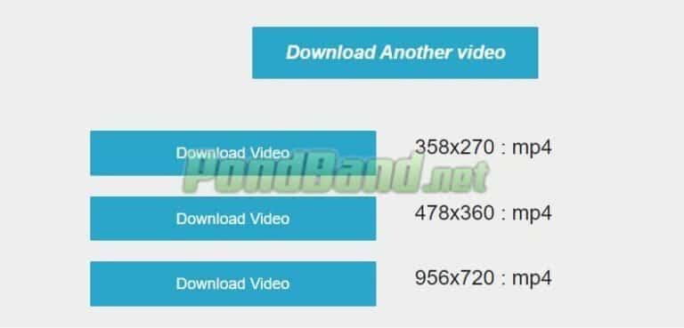 Selanjutnya, pilih Download untuk memulai proses download video