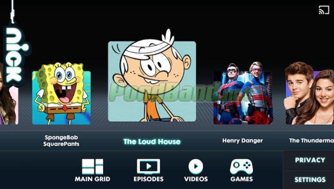 Setelah berada di halaman utama, Anda bisa langsung memutar berbagai video kartun menarik.