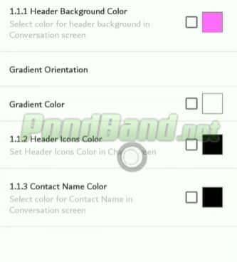 Setelah itu pilih bagian mana yang ingin Anda ubah warnanya.