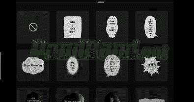 Teks dan Stiker