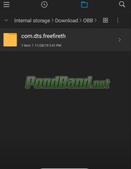 Ubah file com dts freefireth menjadi com dts freefireth1