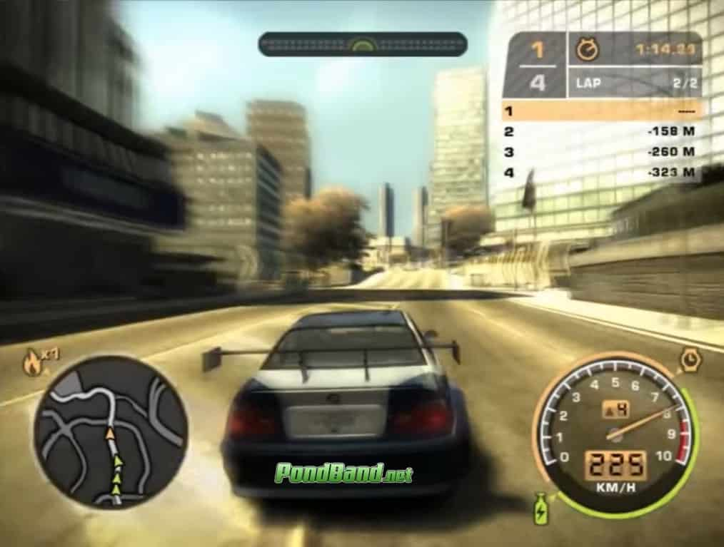 need for speed most wanted Game PC Ringan