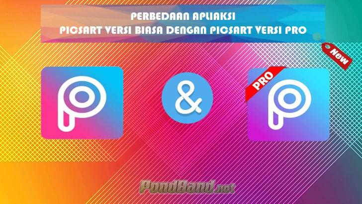 perbedaan picsart biasa dengan versi pro