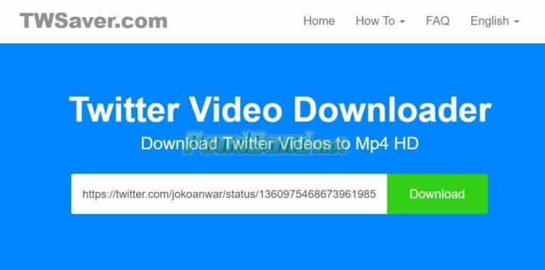 Selanjutnya, paste URL dari video yang akan didownload. Klik ikon download