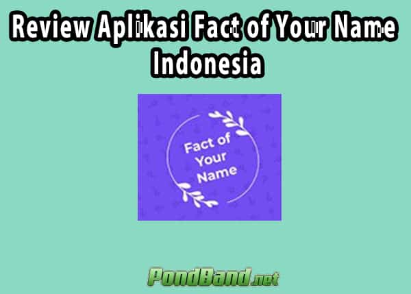 fact of your name indonesia tanpa apk