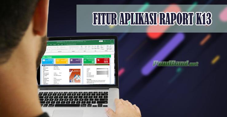 FITUR APLIKASI RAPORT K13