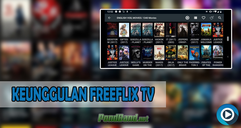 KEUNGGULAN FREEFLIX TV