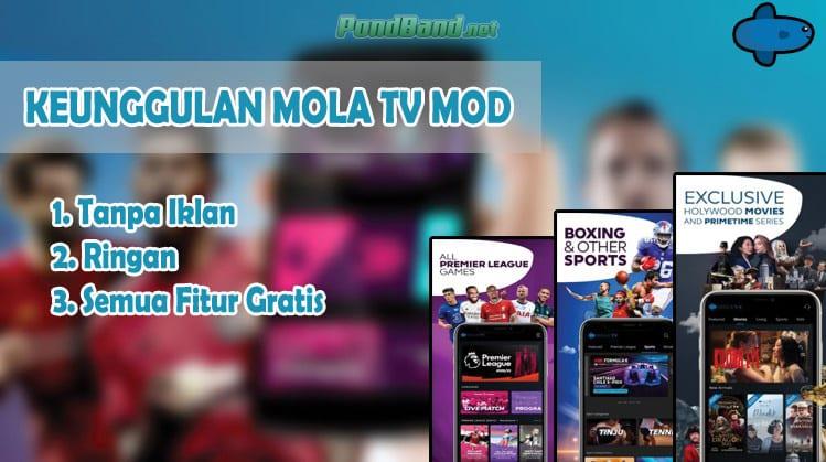 Keunggulan Mola TV Mod