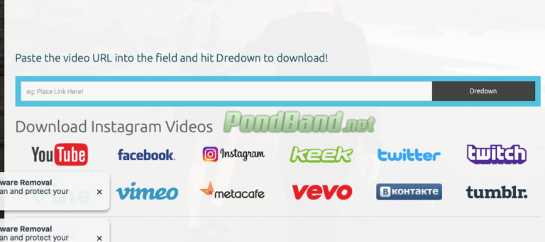 Klik tab baru untuk membuka situs dredown.com