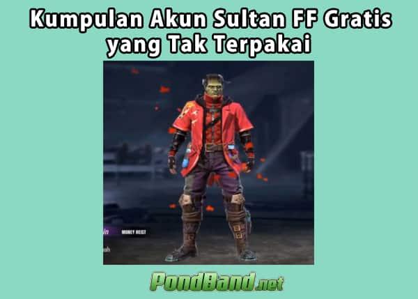 akun ff sultan yang tidak terpakai 2021