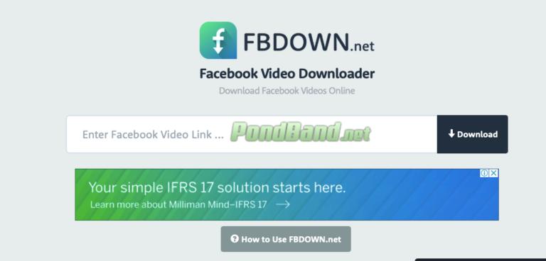 Kunjungi situs FBDown.net dan paste URL pada kolom tersedia