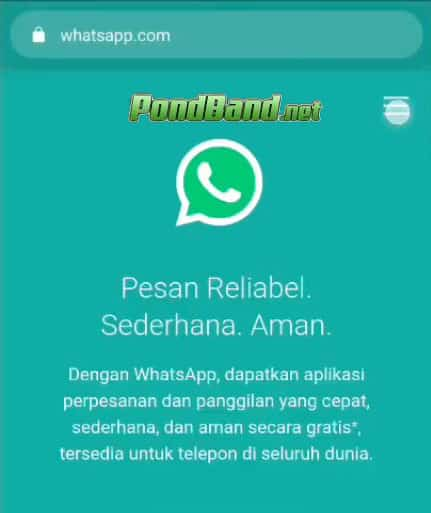 Mobile Client for WhatsApp Web