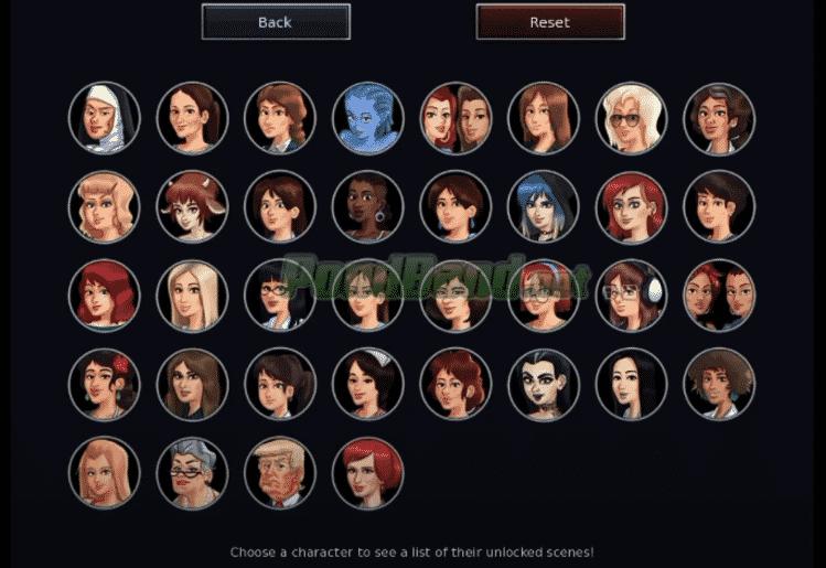 Pilih Puluhan Karakter yang Berbeda