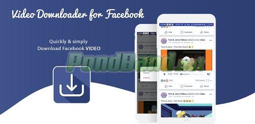 Unduh aplikasi MyVideoDownloader for Facebook di web pencarian Google dan instal.